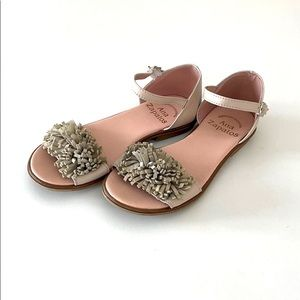 Girls Leather Sandals Made in Spain Size 12